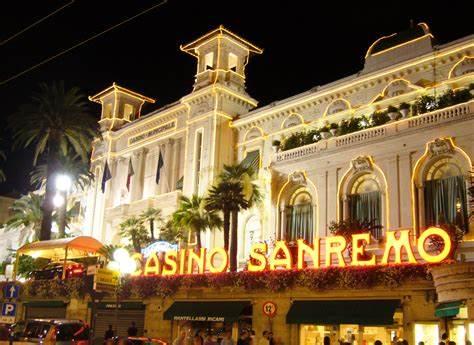 Ingresso principale Casino San Remo